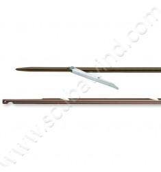 Flèche Inox ø6,3mm - ardillon 7,4cm
