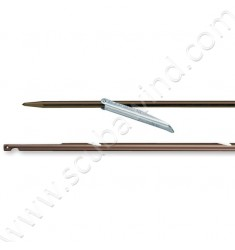 Flèche Inox ø6,5mm - ardillon 7,4cm