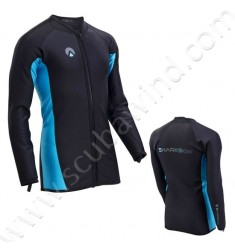 Top CHILLPROOF manches longues à zip - Homme