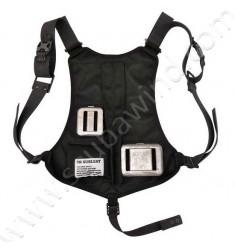 Baudrier Quicksafe avec 6 poches vides (largage rapide)
