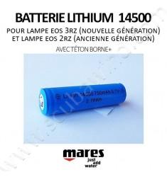 Batterie Lithium 14500 (avec téton borne+)