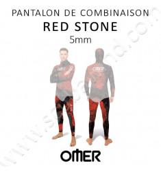 Pantalon de chasse Red Stone 5mm