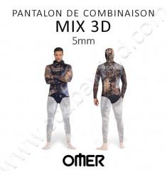 Pantalon taille haute Mix 3D 5mm