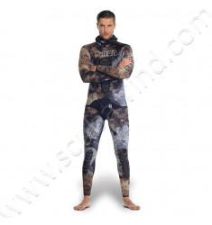 Pantalon taille haute Mix 3D 7mm