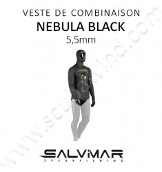 Veste de combinaison Nebula Black 5,5 mm