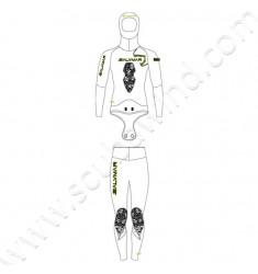 Pantalon de combinaison Nebula Black 5,5 mm