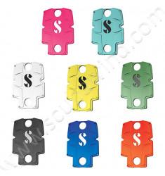 kit coloré pour plaque dorsale S-Tek
