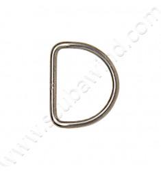Anneau D-Ring Pré-plié, 50mm