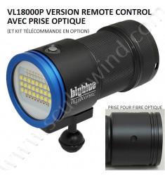 Phare VL18000PBRC (Lumière Bleue, Remote Control) + (Valise inclue)