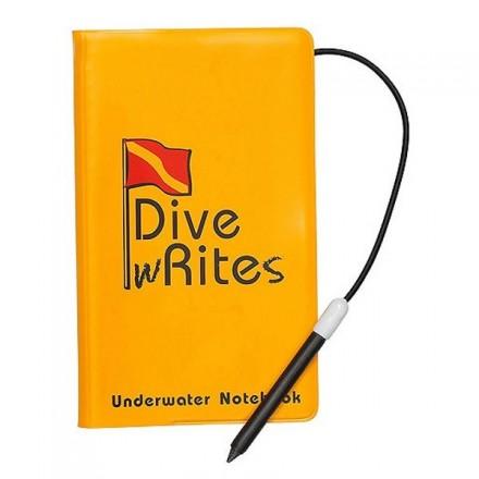 Carnet de note sous marin