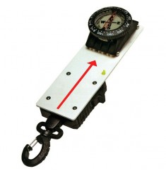 Compas-ardoise avec rétracteur et bloqueur