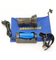 Phare de plongée Megavideo Compact