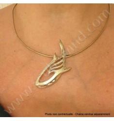Pendentif argent Requin Baleine (sans chaîne)