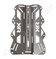 Plaque dorsale acier - XR Line