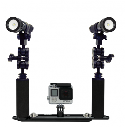 Pack Complet pour Go Pro (2xAL2600XWP II + platine)