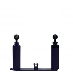 platine + bras double pour Gopro & mini caméra